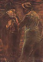 Mugging, 1913, mednyanszky