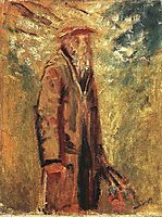 Old Man, 1918, mednyanszky
