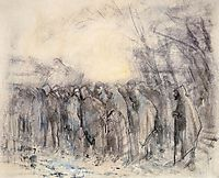 Prisoners Marching Off, 1918, mednyanszky