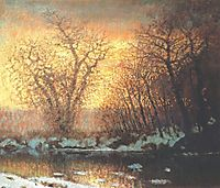 Snow-melting, 1899, mednyanszky