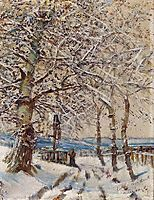 Trees with Hoar-frost, 1892, mednyanszky