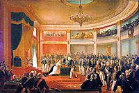 Juramento da Princesa Isabel, 1875, meirelles