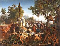 A primeira missa no Brasil, 1861, meirelles