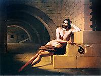 São João Batista no cárcere, 1852, meirelles