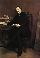 Alexandre Dumas, fils, 1877, meissonier