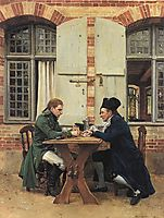 The Card Players, 1872, meissonier