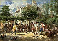 Dimanche à Poissy, 1851, meissonier