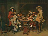 A Game of Piquet, 1861, meissonier
