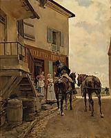 L-auberge du Pont de Poissy, 1889, meissonier