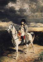 Napoleon I in 1814, 1862, meissonier