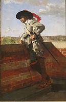 On a Terrace, 1867, meissonier
