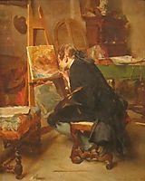 A Painter, 1855, meissonier
