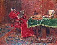 The Philosopher, 1878, meissonier