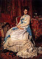 Portrait of Marquesa de Manzanedo, 1872, meissonier