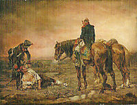 Relief after the Battle, meissonier
