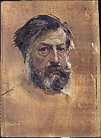 Self-portrait, 1865, meissonier
