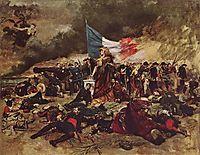 The siege of Paris in 1870, 1884, meissonier