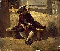 Young Man with a Book, 1860, meissonier