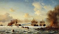The Battle of Grand Port, 1859, melbye