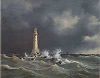 The Eddystone Lighthouse, 1846, melbye