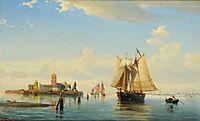 Laguna di Venezia, 1878, melbye