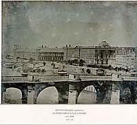 Le Pont Neuf (daguerreotype), 1848, melbye