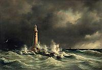 Lighthouse at Stora Bält, 1846, melbye