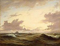 Seascape, 1843, melbye
