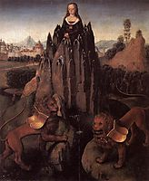 Allegory with a Virgin, 1480, memling