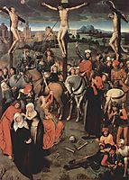 Altar triptych from the Lübeck Cathedral (detail), 1491, memling