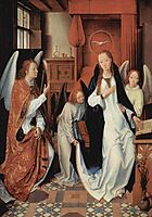 The Annunciation, c.1482, memling