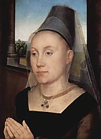 Barbara de Vlaenderberch , 1475, memling