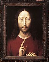 Christ Giving His Blessing, 1481, memling