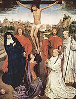Crucifixion, c.1470, memling