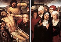 Diptych with the Deposition, 1494, memling