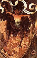 Hell, c.1485, memling
