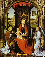 Madonna and Child with Angels, c.1480, memling
