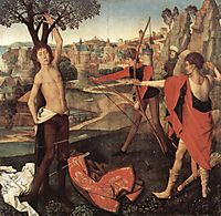 The Martyrdom of St. Sebastian, memling