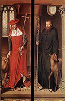 Passion (Greverade) Altarpiece-(closed), 1491, memling
