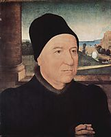Portrait of an Old Man, c.1470, memling