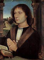 Portrait of Benedetto Portinari , 1487, memling