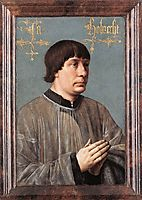 Portrait of Jacob Obrecht, memling