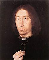 Portrait of a Man, 1480, memling