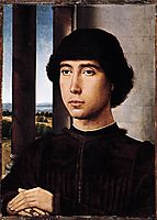 Portrait of a Man at a Loggia, c.1480, memling