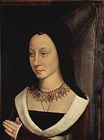 Portrait of Maria Maddalena Portinari, memling