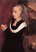 Portrait of a Praying Woman, c.1485, memling