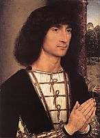 Portrait of a Young Man, 1490, memling