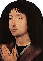 Portrait of a Young Man at Prayer, c.1487, memling