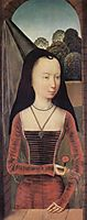 Portrait of a young woman, c.1480, memling