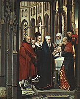 The Presentation in the Temple, 1463, memling